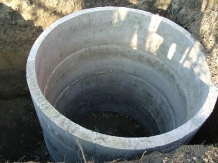 емкость из бетона для канализации