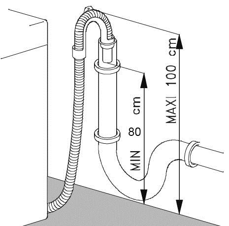 Подключение стиральной машины к сифону