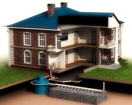Как выкопать канализацию в частном доме своими руками 142