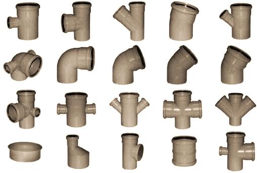 Фитинги для ПВХ труб