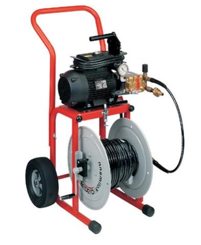 Гидродинамическая машинка для прочистки канализации