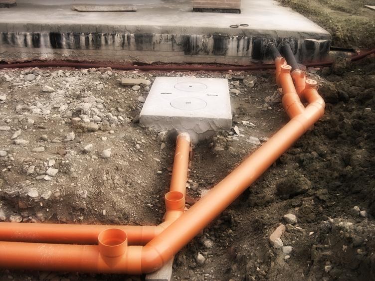 Вид наружной канализации