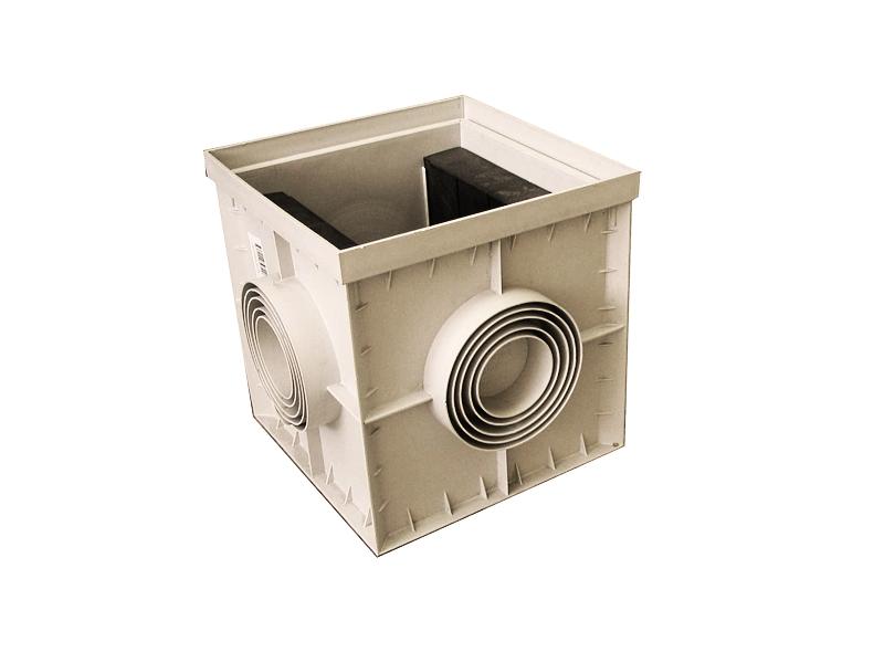 Пластиковый дождеприемник для ливневой канализации