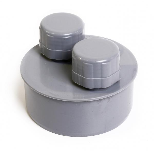 Вакуумный клапан для канализационного стояка 110мм