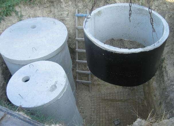 Вот так выглядят бетонные кольца