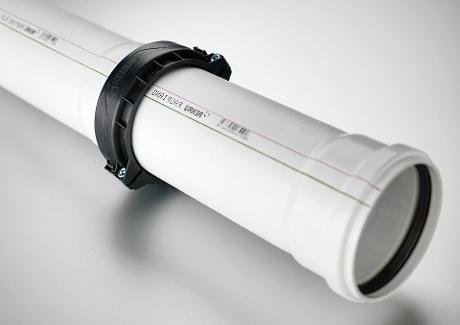 Установка бесшумных труб для канализации - один из способов шумоизоляции