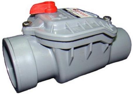 Фото: обратный клапан для канализации