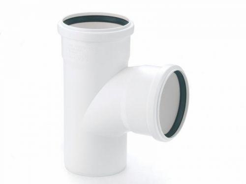 Фото: тройник для канализационной пластиковой трубы