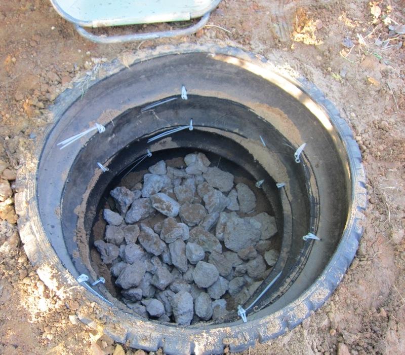 Выгребная яма своими руками из покрышек