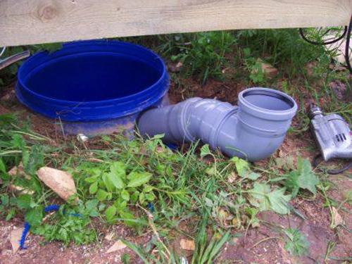 Как сделать выгребную яму из бочки на даче