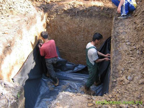Сделать выгребную яму своими руками Частный дом 70