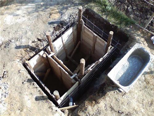 Опалубка для ямы
