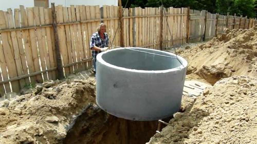 Септ из бетона