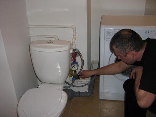 Соединение с водопроводом