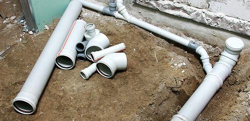 Как проложить канализацию