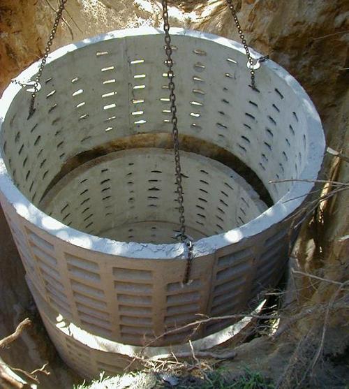 Кольца бетона