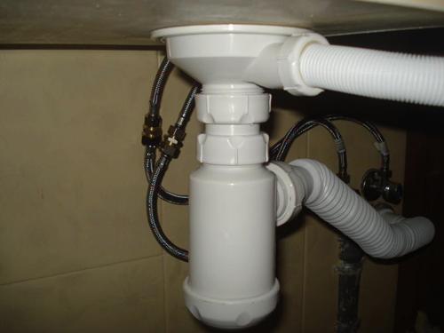 Как подключить мойку к канализации 2