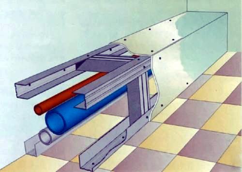 прячем электротехнические провода