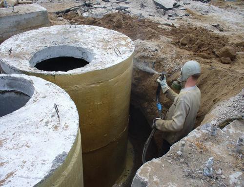 Нанесение бит-цемент