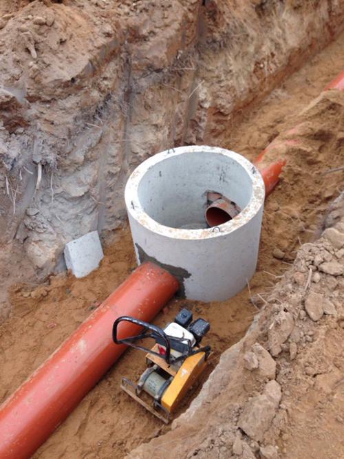 Подключение в напорную канализацию3
