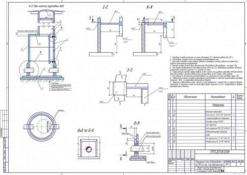 Проектирование колодца по СНип