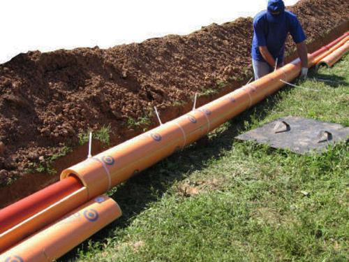 Сборка канал трубопровода