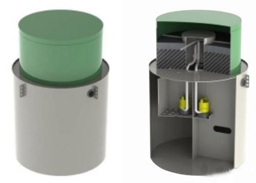 Система очистки сточных вод канализация