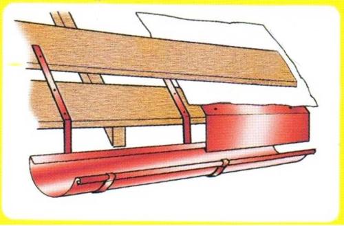 Укладка труб на доски