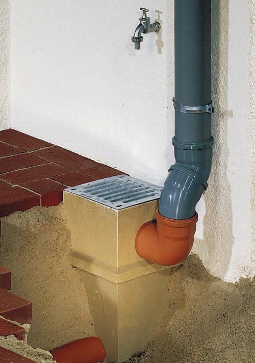 Установка водоотвода