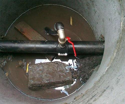 врезка канализации в существующую сеть2