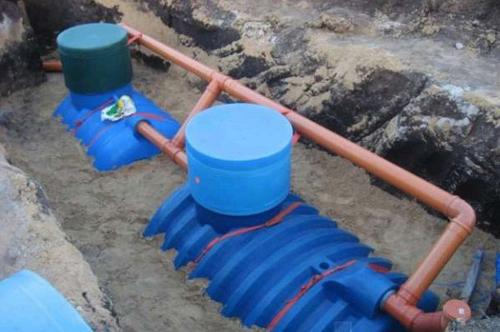 канализационный колодец из пластика монтаж