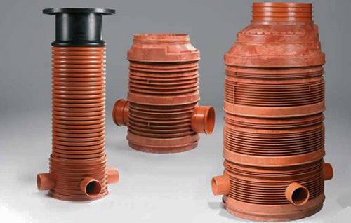 пластиковый колодец для ливневой канализации