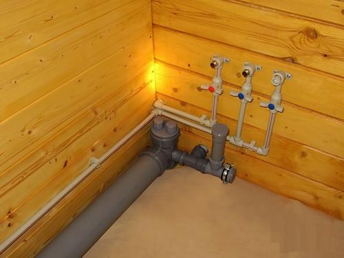 разводка канализации в частном доме3