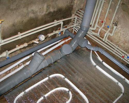 разводка канализации