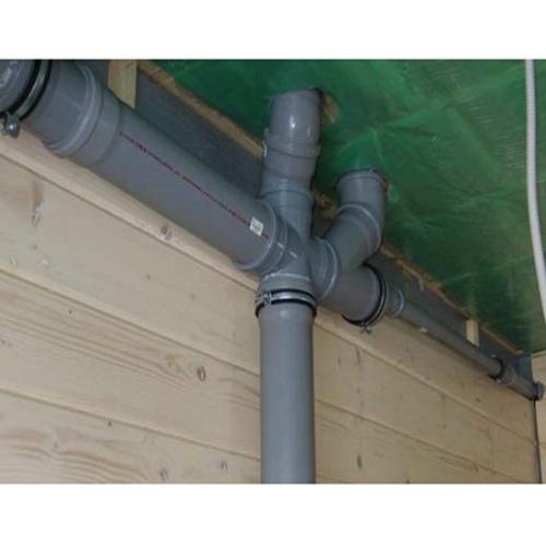 разводка канализационных труб в частном доме
