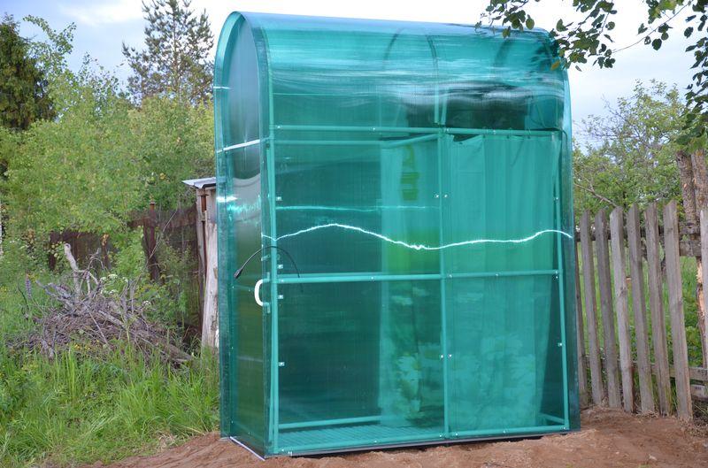 Как сделать душ на даче с подогревом своими руками фото 887