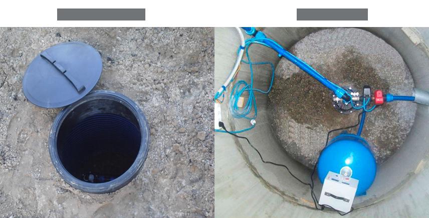 Как сделать бетонный кессон для скважины