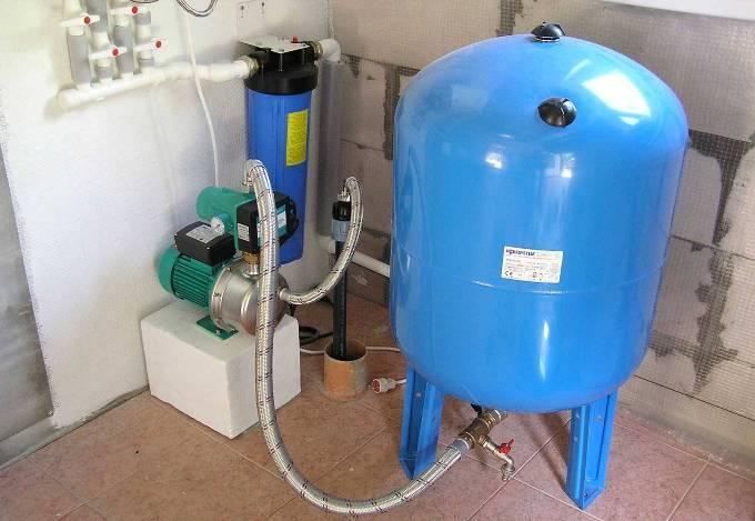 Правила Схема подключения гидробак и реле давления